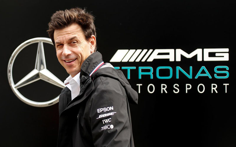 Bos tim F1 Mercedes Toto Wolff. - Reuters