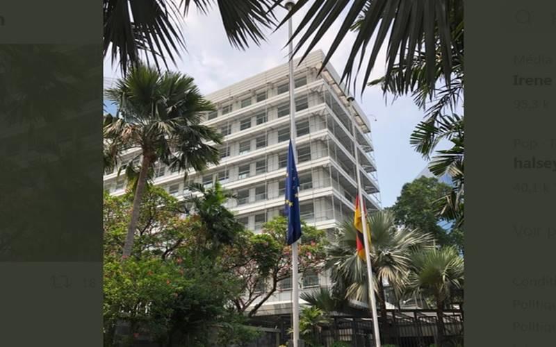 Kedutaan Besar Jerman di Jakarta. JIBI - Bisnis/Nancy Junita@KedubeJerman