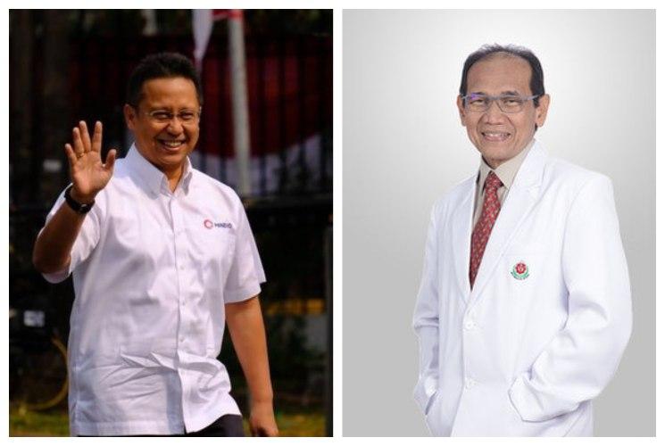 Nama Budi Gunadi Sadikin dan Akmal Taher menjadi calon kuat untuk mengisi posisi Menkes dan Wamenkes di Kabinet Indonesia Maju. - istimewa
