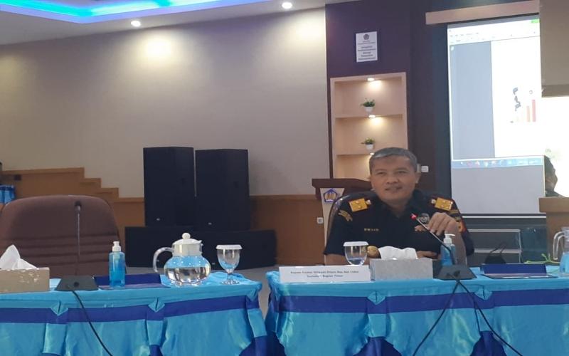 Kepala Kantor Wilayah Ditjen Bea Cukai Sumatra Bagian Timur Dwijo. bisnis/dinda wulandari