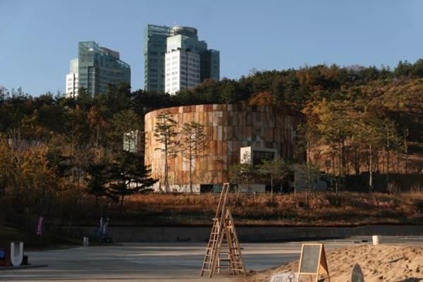 Taman Budaya Mapo Oil Tank Seoul