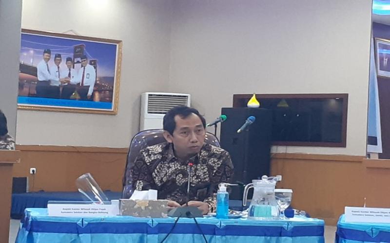 Kepala Kantor Wilayah Ditjen Pajak Sumatra Selatan dan Bangka Belitung Imam Arifin.  - Bisnis/Dinda Wulandari