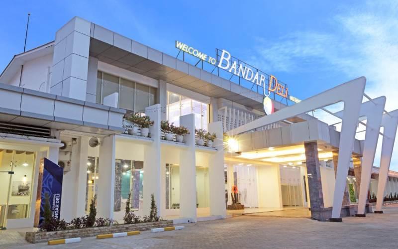 Terminal Penumpang Bandar Deli di Belawan