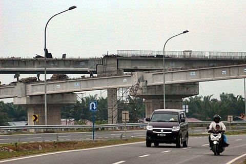 Proyek jalan tol Kualanamu - Antara