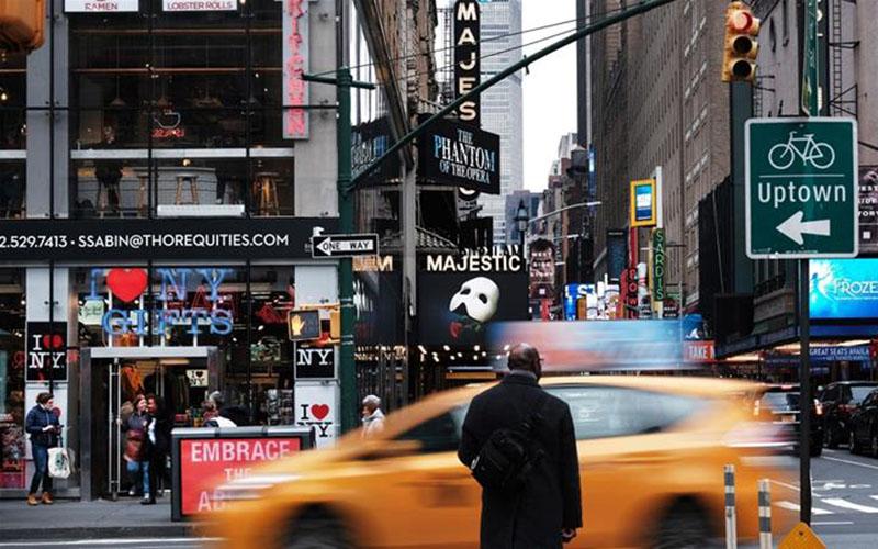 Suasana di kota New York, AS. - Bloomberg