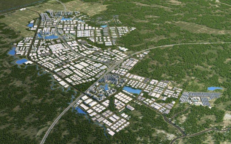 Rencana pembangunan kawasan Subang Metropolitan. - Istimewa