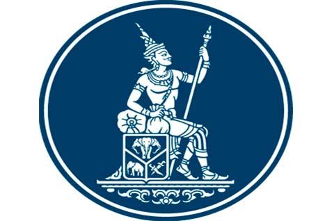 Logo Bank of Thailand, bank sentral Thailand.  - bot