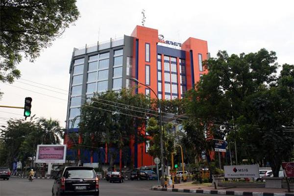 Salah satu kantor Bank Sumut - Istimewa