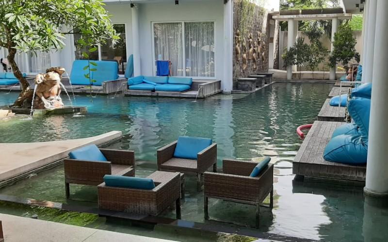 Vila di Bali dengan tarif indekos di kawasan Legian Kuta - Bisnis/Luh Putu Sugiari