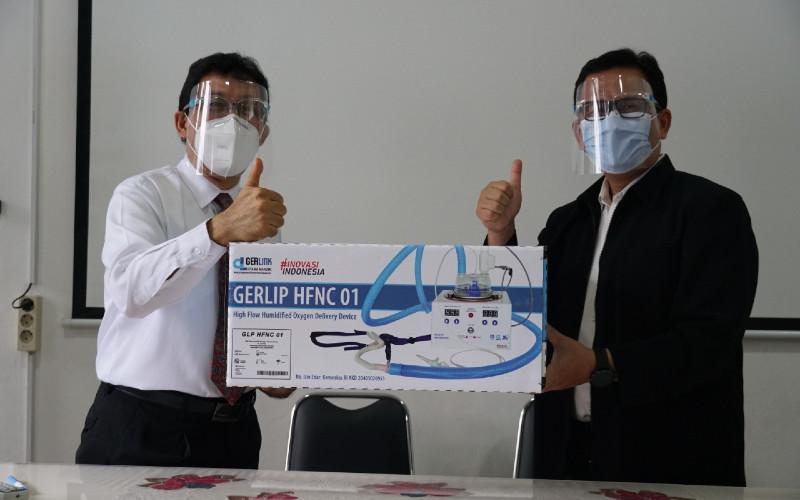 HFNC telah dikembangkan sejak awal masa pandemi tatkala kebutuhan akan ventilator meningkat bagi perawatan pasien Covid-19.  - LIPI
