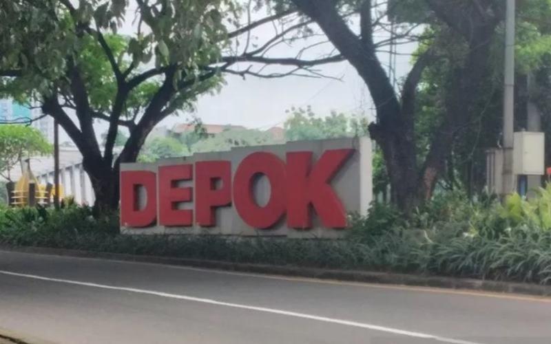 Balai Kota Depok, Jawa Barat. - Antara