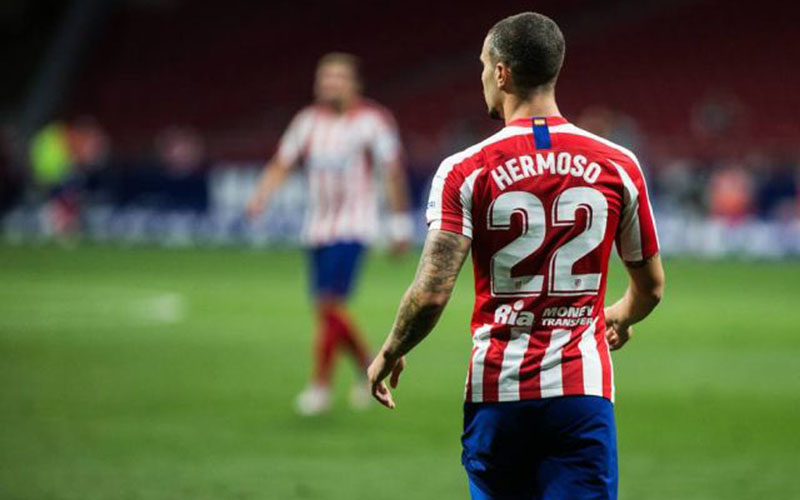 Bek Atletico Madrid Mario Hermoso. - Football Espana