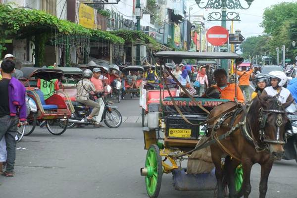 Andong di Malioboro Yogyakarta. - Istimewa