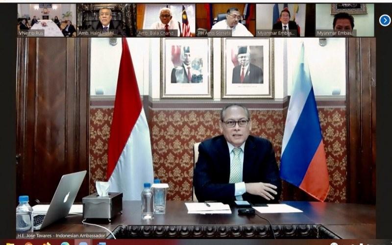 Duta Besar Ri-Designate untuk Rusia Jose Tavares - ANTARA/KBRI