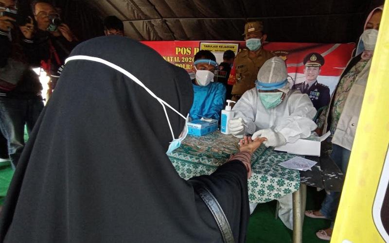 Rapid test di Cirebon - Bisnis/Hakim Baihaqi