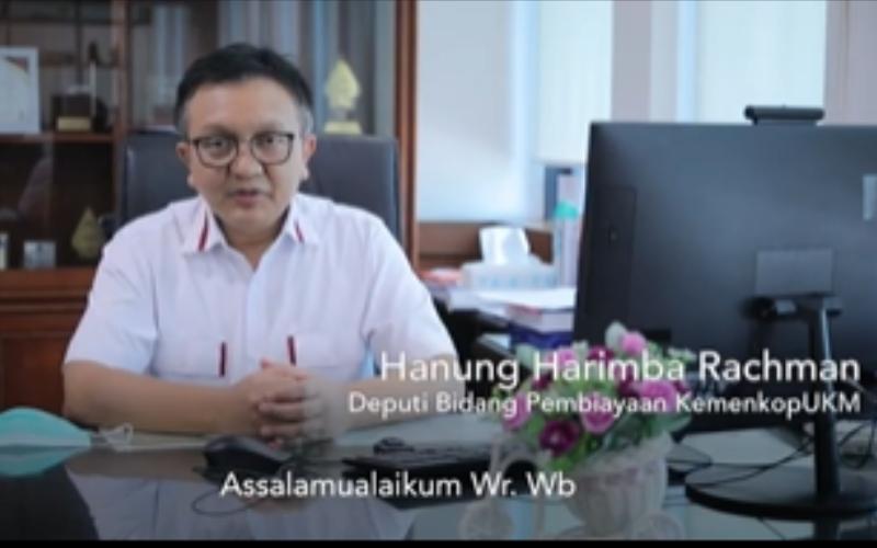 Hanung Harimba Rachman, Deputi Bidang Pembiayaan Kemenkop UKM - @kemenkopukm