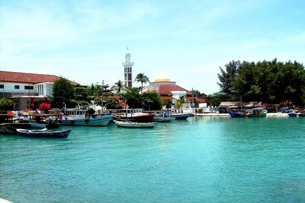 Pulau Pramuka di Kepulauan Seribu. - Istimewa