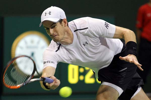 Petenis Skotlandia Andy Murray/Reuters - Naseem Zeitoon