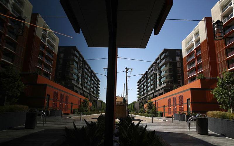 Ilustrasi - Suasana residensial di Sydney, Australia - Bloomberg/Brendon Thorne