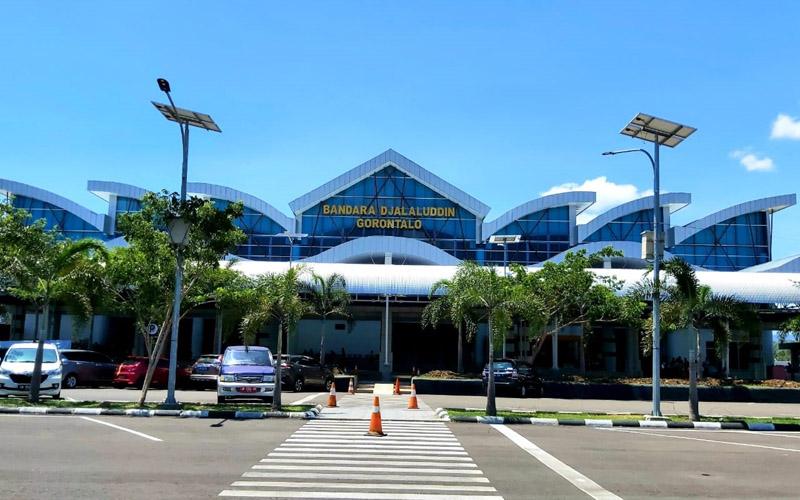 Bandara Djalaluddin Gorontalo. - Dok. Istimewa