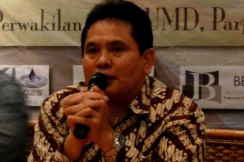 Ketua Umum DPD Himpunan Pengusaha Pribumi (HIPPI) DKI Jakarta Sarman Simanjorang  -  Istimewa
