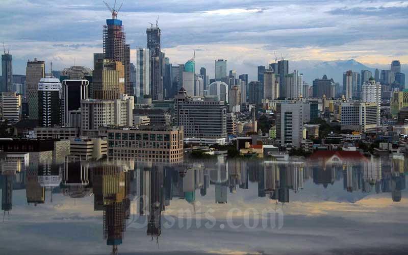 Ilustrasi wajah properti Jakarta./Bisnis - Arief Hermawan
