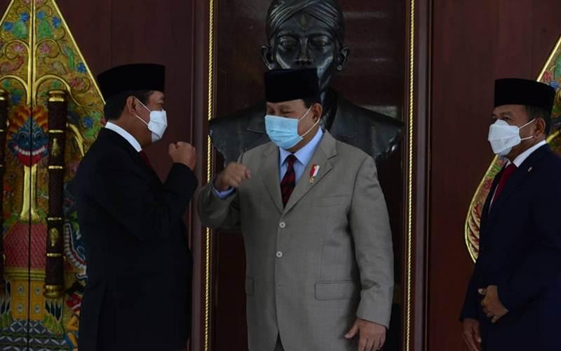 Sakti Wahyu Trenggono dan Menhan Prabowo Subianto - Twitter/@saktitrenggono
