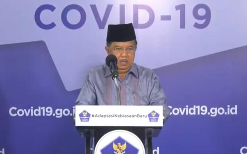 Wakil Presiden RI Ke-10 dan 12 sekaligus Ketua Dewan Masjid Indonesia Jusuf Kalla. JIBI - Bisnis/Nancy Junita
