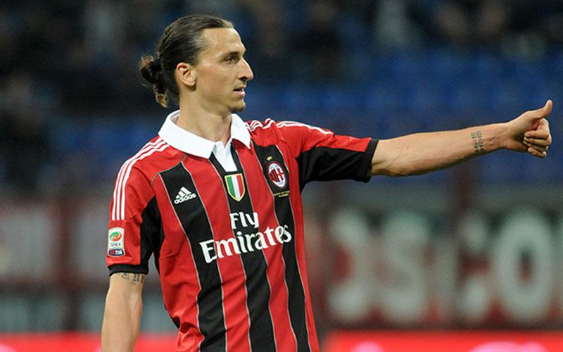 Ujung tombak AC Milan Zlatan Ibrahimovic - acmilan.com