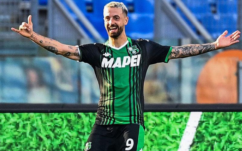 Srtiker Sassuolo Francesco Caputo. - Sempre Inter