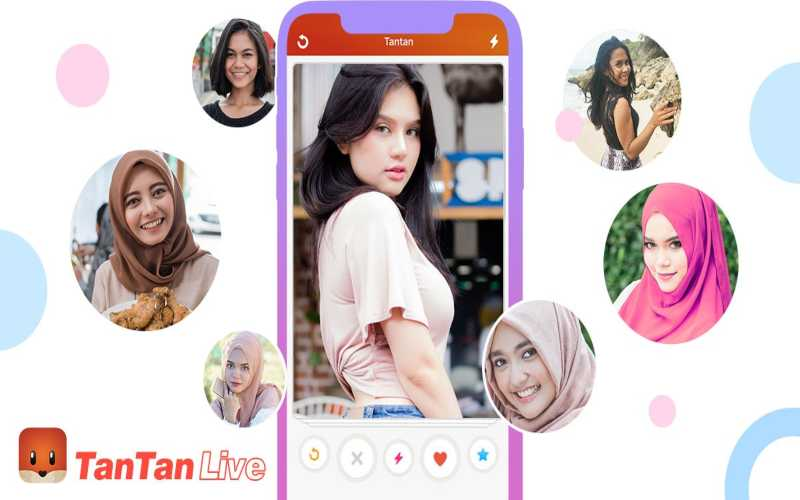 Ilustrasi Aplikasi Tantan. - Istimewa