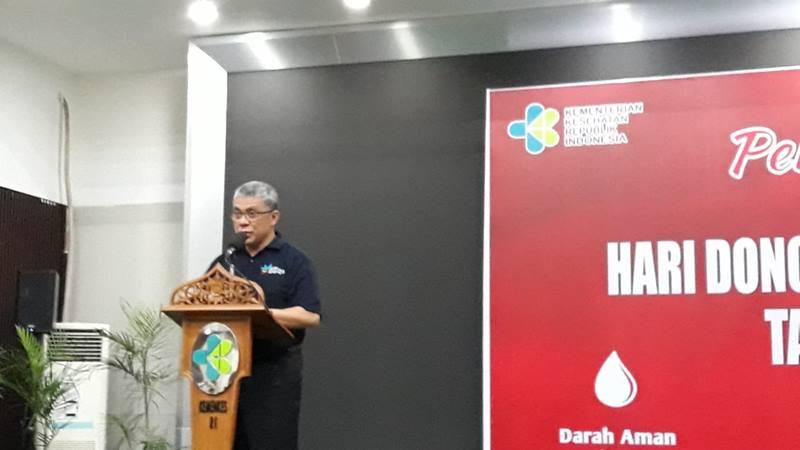 Sekretaris Jenderal Kementerian Kesehatan drg Oscar Primadi MPH di Gedung Sujudi, Kementerian Kesehatan RI, Jakarta Selatan pada Senin (24/6/2019). JIBI/Bisnis - Ria Theresia Situmorang