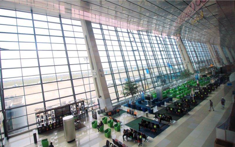 Ruang Tunggu Bandara Soekarno Hatta.  - AP2