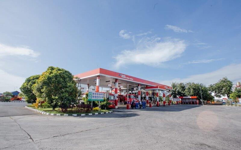 SPBU No. 54.832.03 Kekalik, Jl. Majapahit No. 40, Kota Mataram. - Istimewa