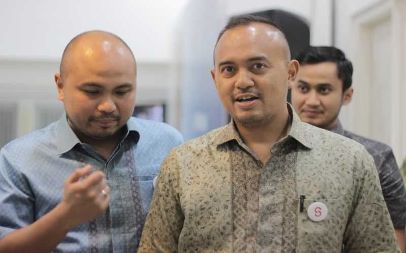 Ketua BPP HIPMI Bidang Industri Rama Datau dan Ketua Umum BPD HIPMI Jaya Afifuddin Suhaeli Kalla. - Istimewa