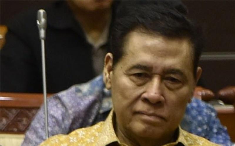 Muladi, eksrektor Universitas Diponegoro (Undip) Semarang dan mantan menteri kehakiman, semasa hidup - Antara