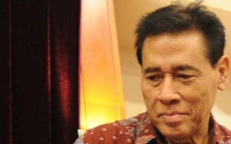 Muladi, eks rektor Universitas Diponegoro (Undip) Semarang dan mantan Menteri Kehakiman, semasa hidup - Antara.