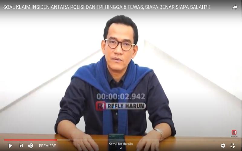 Pakar Hukum Tata Negara Refly Harun  -  Youtube Channel Refly Harun