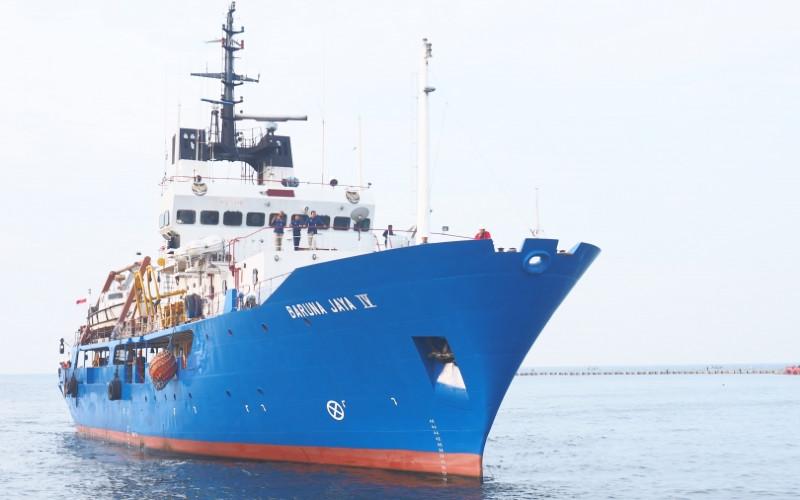 Kapal Riset Baruna Jaya IV BPPT.  - BPPT