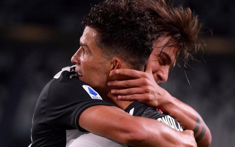 Duet tajam Juventus Cristiano Ronaldo dan Paulo Dybala - Instagram Paulo Dybala