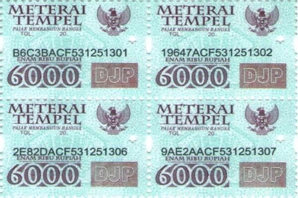 Ilustrasi materai - tokopedia.com