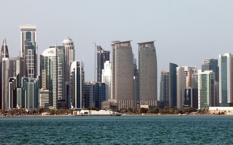 Properti pencakar langit di Doha, ibu kota Qatar./Bloomberg - Gabriela Maj