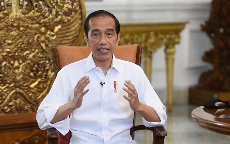 Presiden Joko Widodo menyampaikan keterangan pers terkait vaksin Covid/19 di Istana Merdeka, Rabu, 16 Desember 2020 / Youtube Sekretariat Presiden