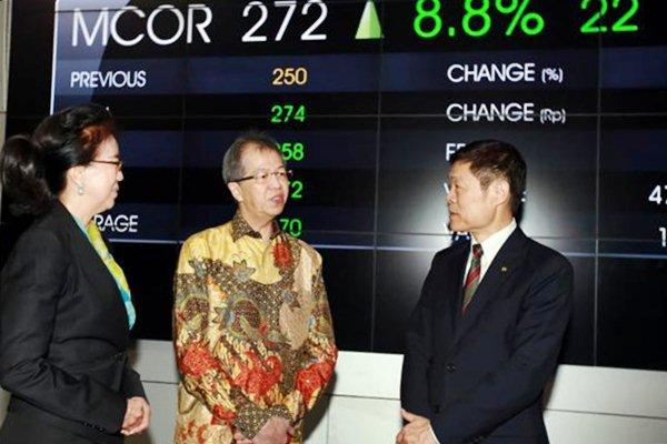 PNBN MCOR Saham China Construction Bank (MCOR) Melonjak, Wakomut Panin (PNBN) Untung Besar - Market Bisnis.com