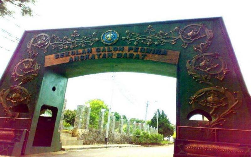 Sekolah Calon Perwira TNI Angkatan Darat (AD) atau Secapa AD yang berlokasi di Hegarmanah, Kecamatan Cidadap, Kota Bandung. - Istimewa