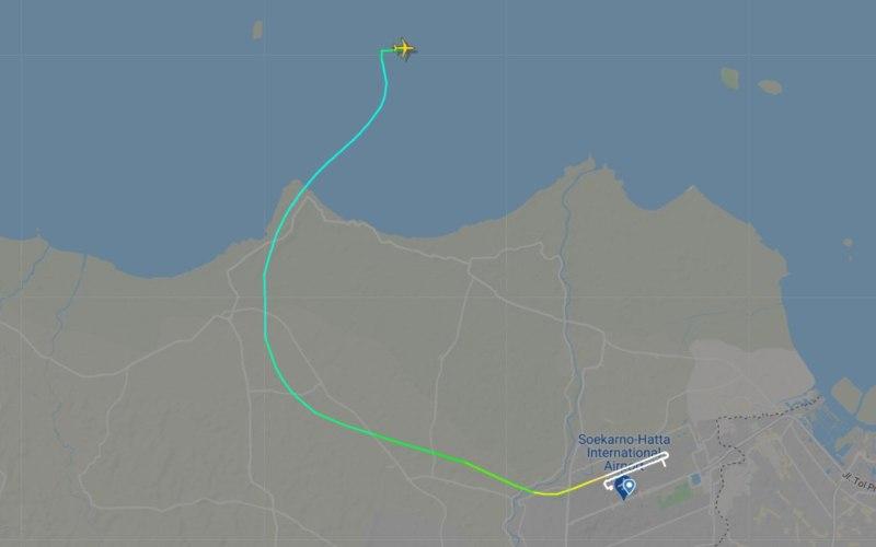 Terbang Sekitar 4 Menit, Pesawat Sriwijaya SJ182 Hilang ...