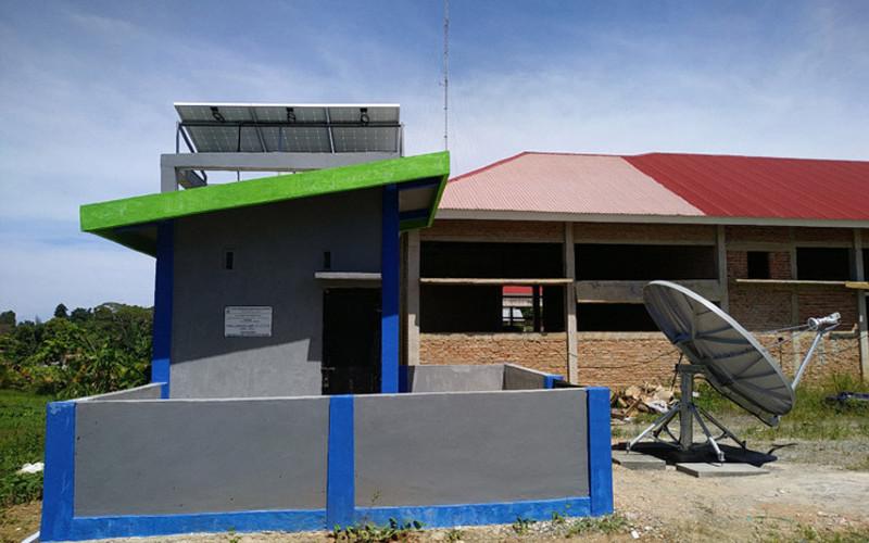 Stasiun Seismik BMKG. Pada 2019, BMKG mempercayakan pemasangan 194 stasiun monitoring gempa bumi kepada PT Len Industri, dan berlanjut pada 2020 berupa pemasangan 39 titik stasiun miniregional. Dengan demikian, keseluruhan seismograf BMKG kini berjumlah 411 unit.  - Len Industri