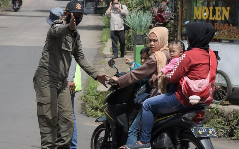 Operasi yustisi 3M di Jabar - Istimewa