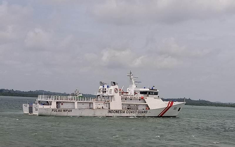 Ilustrasi - KN Nipah 321 turut dilibatkan dalam membantu pencarian pesawat Sriwijaya SJ182. - bakamla.go.id