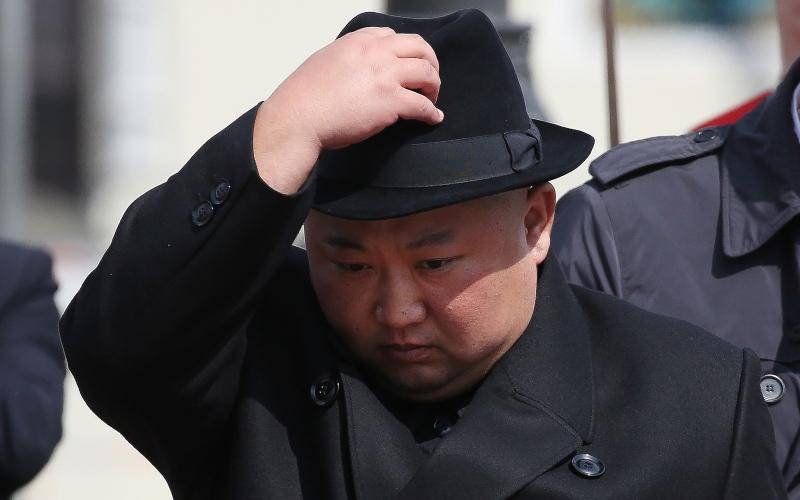 Pemimpin tertinggi Korea Utara Kim Jong-un - Bloomberg/Andrey Rudakov
